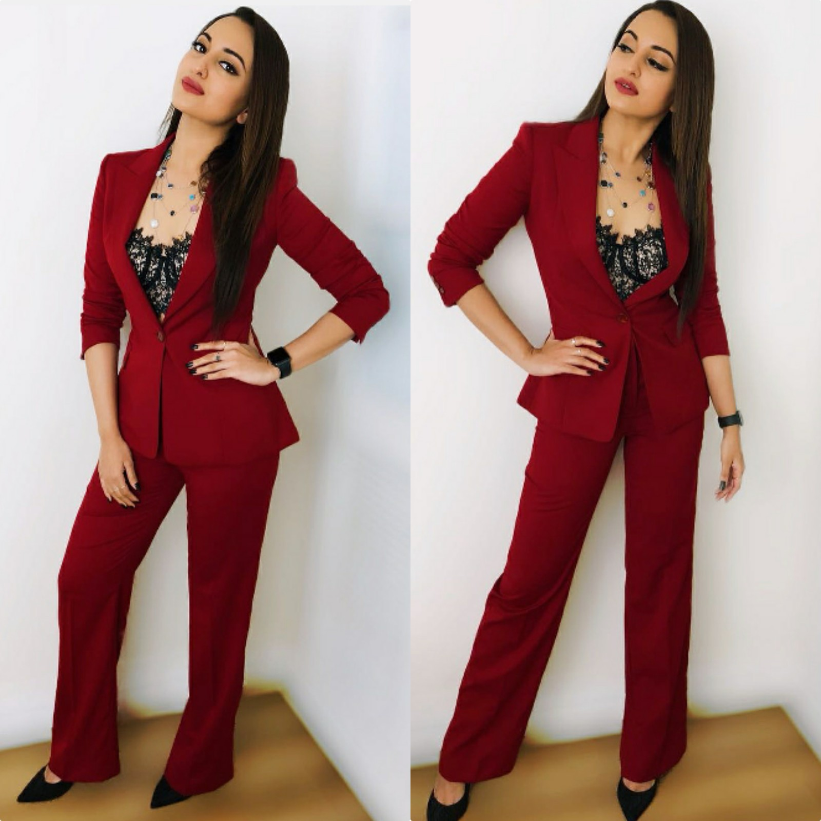 This Pant Suit Looks Great on Sonakshi Sinha