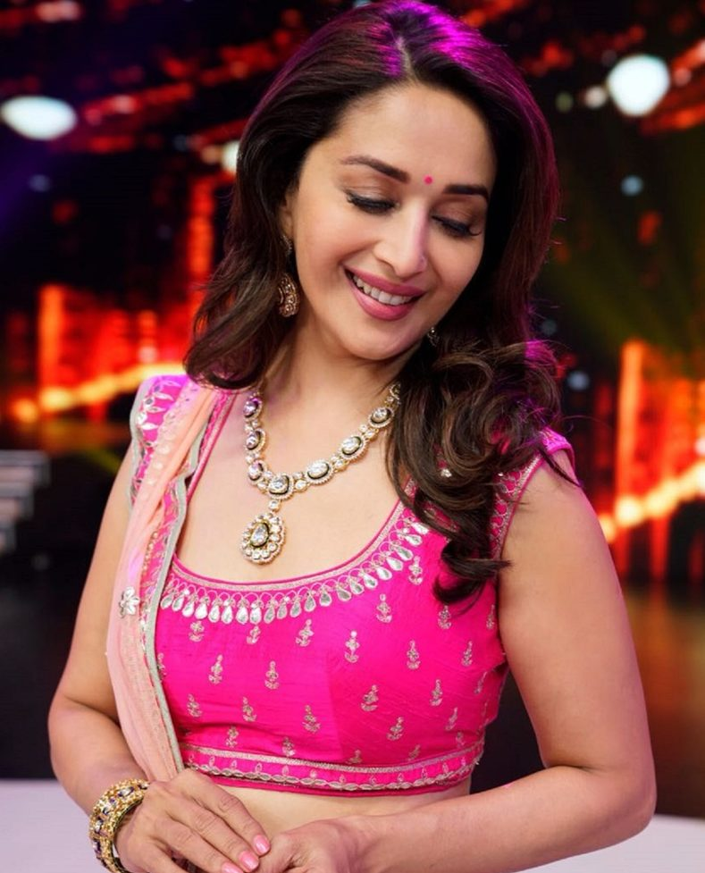 Madhuri Dixit's Recent Look at Dance Deewane