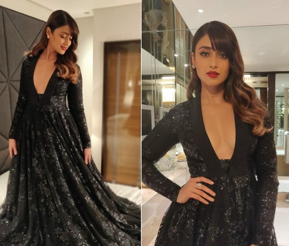 Ileana D'cruz in a Sensuous Black Gown