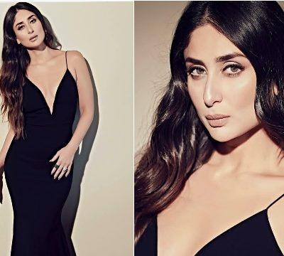 Kareena Kapoor Khan Looks Ravishing in this Black Dress