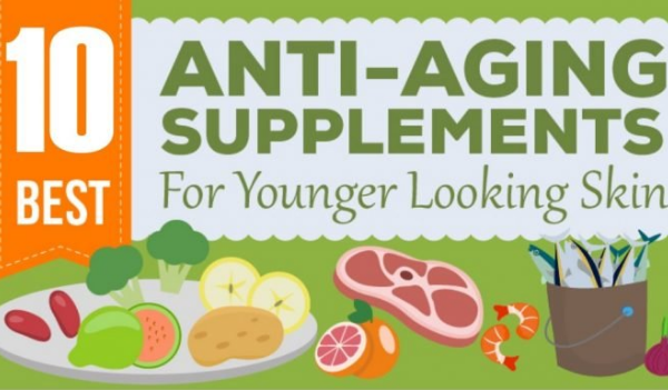 10 Anti-aging Supplements to Get Younger Looking Skin