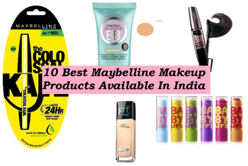 10 Best Maybelline Makeup Products Available in India