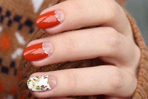 35 Half Moon Nail Art Ideas You can Try
