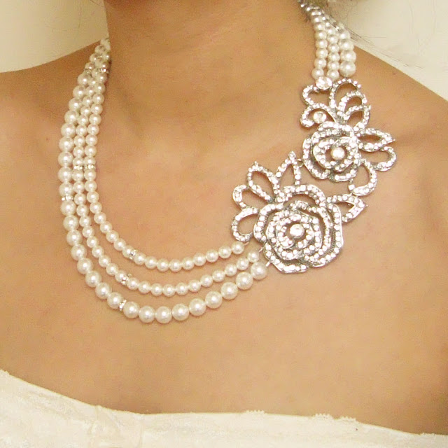 20 Gorgeous Bridal Necklace Designs